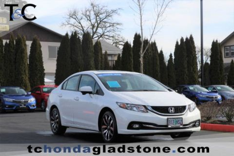 Certified Used Honda Civic Sedan EX-L