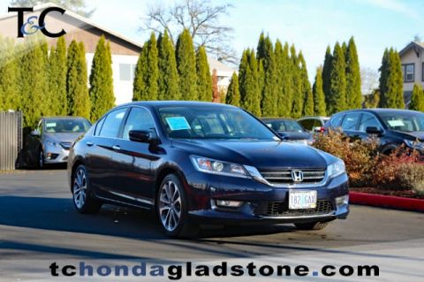 Used Honda Accord Sedan Sport