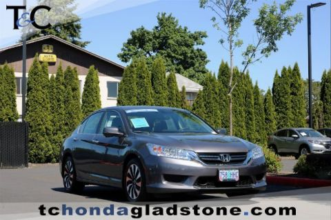 Certified Used Honda Accord Hybrid Touring