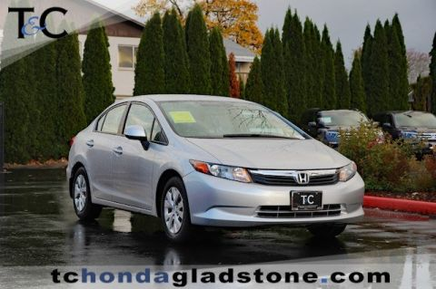 Used Honda Civic Sedan LX