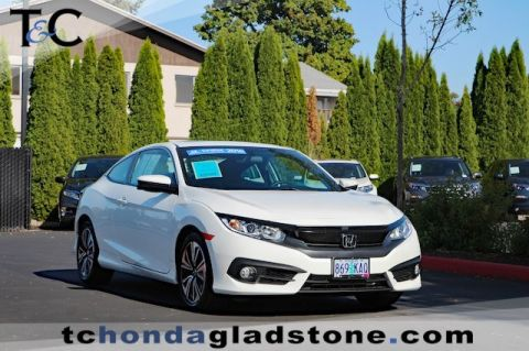 Certified Used Honda Civic Coupe EX-T