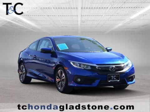 Pre-Owned 2016 Honda Civic Coupe EX-L
