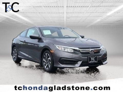 New 2018 Honda Civic Coupe LX-P