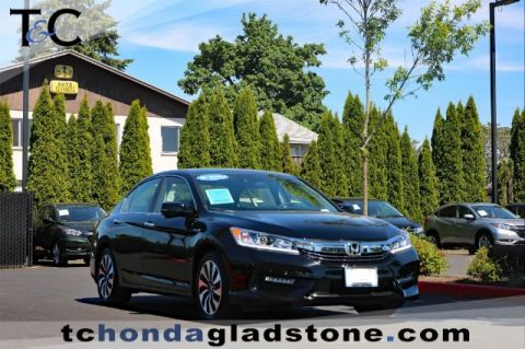 Certified Pre-Owned 2017 Honda Accord Hybrid Hybrid FWD 4dr Car