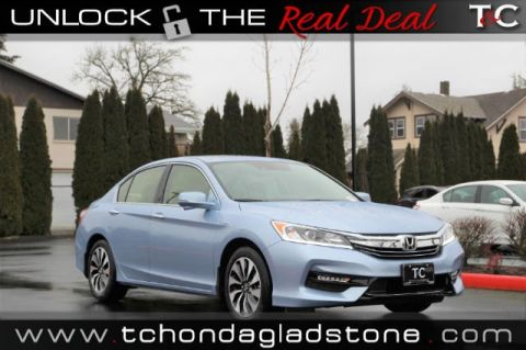New 2017 Honda Accord Hybrid EX-L FWD 4dr Car